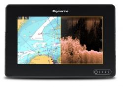 Raymarine AXIOM 7 DV CPT-S peräpeilianturilla