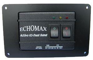 Echomax Active-XS vakio käyttöpaneeli