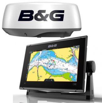 B&G Vulcan 9 FS karttaplotteri + Halo20 tutka