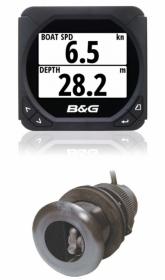 B&G Triton T41 monitoiminäyttö loki/kaiku-paketti