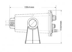 B&G V20S VHF-radiopuhelin sisäisellä GPS:llä