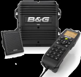B&G V90S modulaarinen VHF-radiopuhelin ja AIS-vastaanotin sisäisellä GPS:llä
