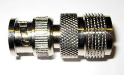 Adapteri BNC uros  UHF (SO239) naaras