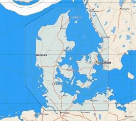 C-MAP NT+ (EN-C124) Denmark