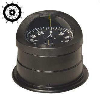 Autonautic C15-0048 pinta-asennettava kompassi 100 mm ruusulla, musta
