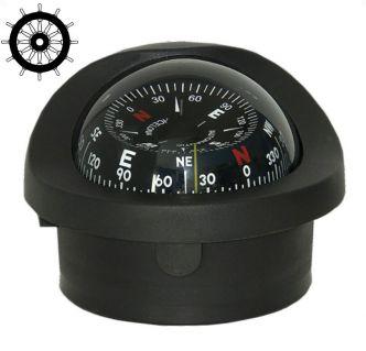 Autonautic C15/150-0064 uppoasennettava kompassi 100 mm ruusulla, musta