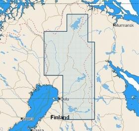 C-MAP NT+ (EN-C339) Suomen järvet Pohjoinen