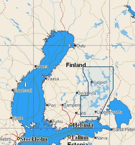 C Map Nt En C347 Suomen Jarvet Etela Ita Marinea Erikoisliike