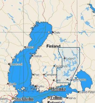 C-MAP NT+ (EN-C347) Suomen järvet Etelä/Itä