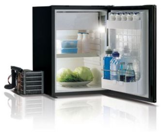 Vitrifrigo Airlock C42L jääkaappi, musta