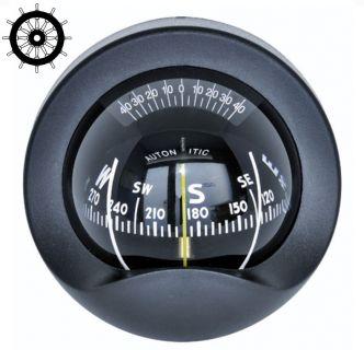 Autonautic C9-0030 laipiokompassi 85 mm ruusulla, musta