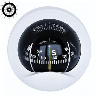 Autonautic C9-0031 laipiokompassi 85 mm ruusulla, valkoinen