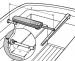 Raymarine laipiokiinnike 230 mm