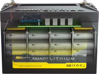 SUNBEAMsystem SMART LITHIUM ONE akku 100Ah, 12 V