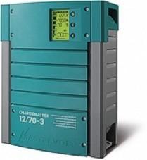 Mastervolt ChargeMaster 12/70-3 automaattilaturi kolmella lähdöllä
