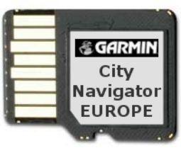 Garmin Euroopan kartta CNE NT SD/MicroSD
