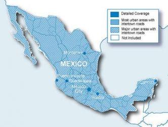 Garmin Mexikon kartta CN NT SD/MicroSD