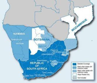 Garmin Etelä-Afrikan kartta CN NT SD/MicroSD
