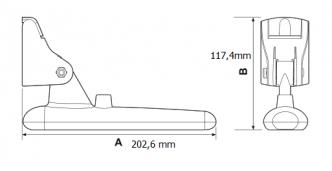 Raymarine Dragonfly CPT-60 peräpeilianturi