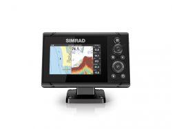 Simrad Cruise 5 karttaplotteri/kaikuluotain