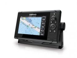 Simrad Cruise 7 karttaplotteri/kaikuluotain