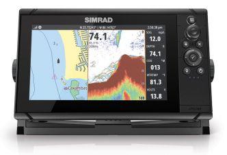 Simrad Cruise 9 karttaplotteri/kaikuluotain