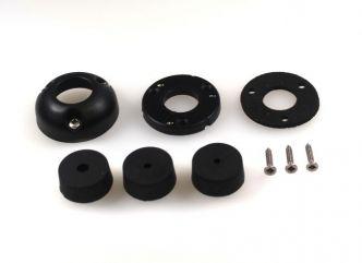 Index Marine DG21 vesitiivis kaapeliläpivienti 4.5-9 mm kaapelille, musta