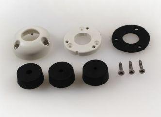 Index Marine DG21 vesitiivis kaapeliläpivienti 4.5-9 mm kaapelille, valkoinen
