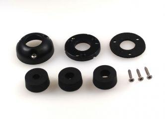 Index Marine DG22 vesitiivis kaapeliläpivienti 9-14 mm kaapelille, musta
