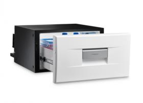 Dometic CoolMatic CD-20 valkoisella etupaneelilla