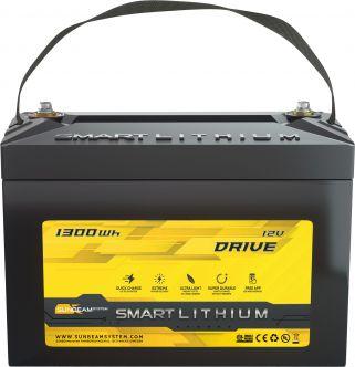 SUNBEAMsystem SMART LITHIUM DRIVE akku 1300 Wh, 24 V