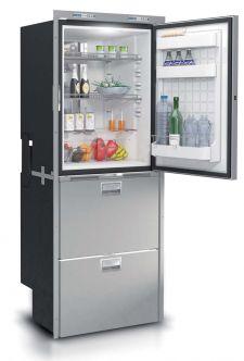 Vitrifrigo DW360 jääkaappi + tuplavetolaatikko, INOX