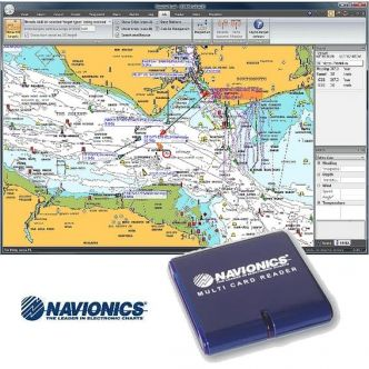 DIGITAL YACHT SmarterTrack navigointiohjelma Navionics-kartoille