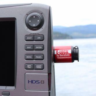 Durasafe E-Lock Lukko kaikuluotaimelle/plotterille