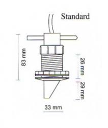 Echopilot FLS 2D Standard anturilla ESITTELYLAITE