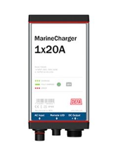 Defa PowerSystems MarineCharger 1x20A maasähkölaturi