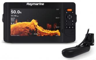 Raymarine Element 9 HV HV-100 peräpelianturilla