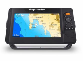 Raymarine Element 9S ja Quantum Q24C Wi-Fi tutka