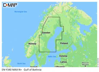 C-MAP MAX-N+ Ahvenanmaa - Perämeri (M-EN-Y340)
