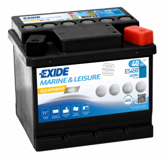 Exide EQUIPMENT GEL 40 Ah Akku
