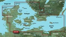 Garmin BlueChart g2 HD, HXEU021R Itä-Tanska ja Kaakkois-Ruotsi