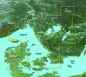 Garmin BlueChart g2 HD, HXEU042R Oslo-Trelleborg