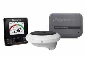 Raymarine Evolution EV-150 järjestelmä autopilotti P70s hallintalaitteella