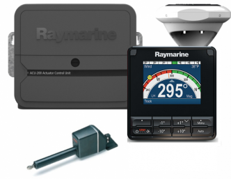 Raymarine Evolution EV-200 lineaaripilotti 11000 kg veneisiin asti