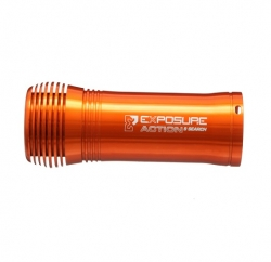 Exposure Lights 9 degree 1000 lumen search light with triple cell