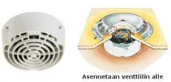 Vetus FAN sähkötuuletin 12 V