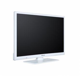"""Finlux 24"""" LED-televisio DVD-soittimella, valkoinen"""