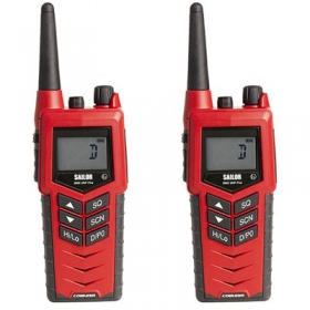Sailor 3965 UHF Fire Fighter paketti (2 radiota)