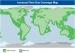 COASTAL -liittymä (vihreä alue data sekä puhe, sininen alue vain puhe)