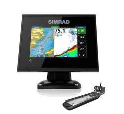 Simrad GO5 XSE kaikuplotteri Active Imaging 3-in-1 peräpeilianturilla